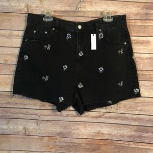 Topshop // Mom Shorts